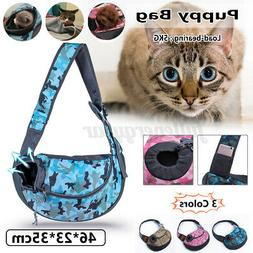 Pet Dog Cat Puppy Carrier Mesh Comfort Travel Tote Sling Bac