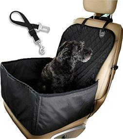 UPSTONE Pet Front Seat Cover Pet Booster Seat,Deluxe 2 in 1