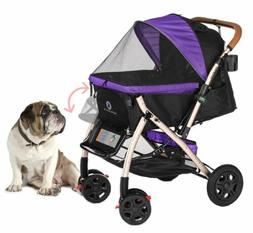 PET ROVER™ XL Extra-Long Premium Stroller for Small/Medium
