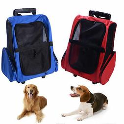 Pet Travel Bag Cat Puppy Dog Carrier Rucksack Stroller Detac