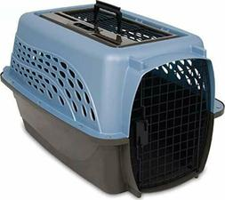 Pet Travel Crate Carrier Dog Cat Two Door Top Load 24-Inch M