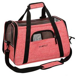 Amazing Pink Pet Carrier by TailHouse: Stylish & Heavy-Duty,