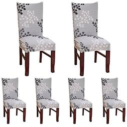 ColorBird Plant Series Spandex Dining Chair Slipcovers Remov