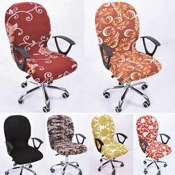 Pop Swivel Chair Cover Working Armchair Slipcover Protector