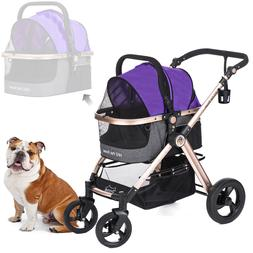 HPZ PET ROVER PRIME Luxury 3-in-1 Stroller for Small/Medium