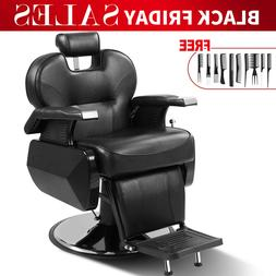 All Purpose Hydraulic Recline Barber Chair Salon Beauty Spa