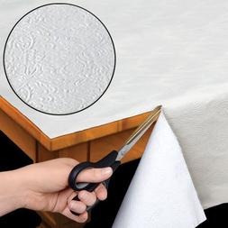 Quilted Heavy Duty Table Pad Protector With Flannel Backing