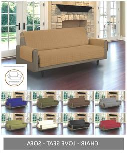 Quilted Microfiber Pet Dog Couch Sofa Furniture Protector Co