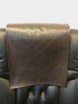 "Recliner 14"" x 30"" DARK  BROWN Ford, Head Rest Cover Vinyl S"