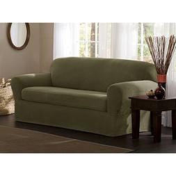 Surprising Maytex Reeves Polyester Spandex Sofa Slipcover Seat Cover Home Interior And Landscaping Eliaenasavecom