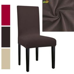 Removable Chair Seat Cover Stretch Slipcovers Dining Lycra S