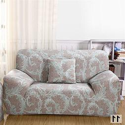 Removeable Stretch Sofa Armchair Slipcovers for 4 Seater wit