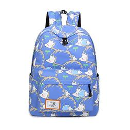 Joymoze Retro Colorful Print Trendy Backpack for women Cute