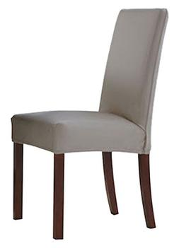 Serta 1 Piece Reversible Stretch Suede Dining/Parsons Chair