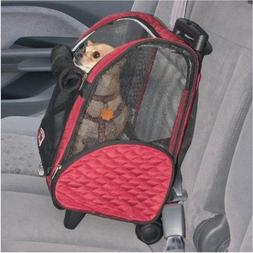 Roll Around Pet Carrier - Small/Red