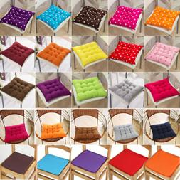 Round Square Chair Cushions Seat Pads Garden Dining Kitchen
