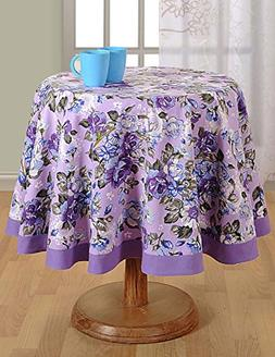 Round Tablecloth - 72 inches in Diameter - Tablecloths for 6