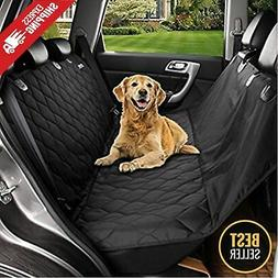 Seat Cover Rear Back Car Pet Dog Travel Waterproof Bench Pro