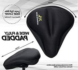 Large Bike Seat Cushion Cover - Used for Maximum Comfort - H