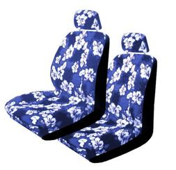 Set of 2 Universal Fit Hawaiian Low Back Front Bucket Seat C