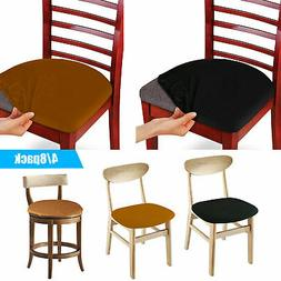 Set of 4/8 Pcs Stretch Removable Washable Dining Room Chair