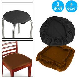 Set of 4/8Pcs Stretch Removable Washable Dining Room Chair S