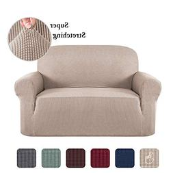 Sofa Slip Cover T Cushion for Leather Stretch Sofa Cover Fur