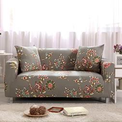 Deplas97 Sofa Slipcover Polyester Spandex Fabric Soft Covers