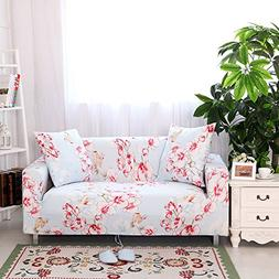 Yiwant Sofa Slipcover Protector Cover, Flower Printed Polyes