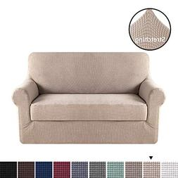 H.VERSAILTEX 2 Pieces Sofa Slipcover Slip Resistant Stylish