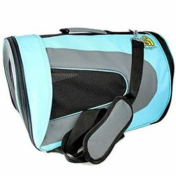Pet Magasin Soft-Sided Pet Travel Carrier  for Cats, Small D