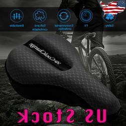 Soft Saddle Pad Cushion Seat Cover Case Road Bicycle Cycling