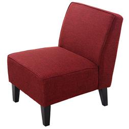 Giantex Deco Solids Accent Chair Armless Living Room Bedroom