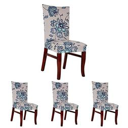 ColorBird Spandex Fabric Chair Slipcovers Removable Universa