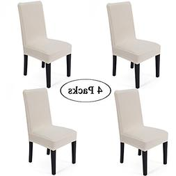Spandex Fabric Stretch Removable Washable Dining Room Chair