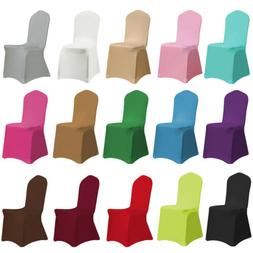 Spandex Stretch Chair Covers Seat Cover for Wedding Party Ba