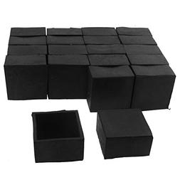 uxcell Square Furniture Table Chair Foot Cap Cover 40mm x 40