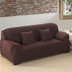 Scorpiuse Stretch Loveseat Cover 1-Piece Polyester Spandex F