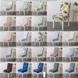 Stretch Chair Cover For Kitchen Dining Bar Hotel Slipcover D