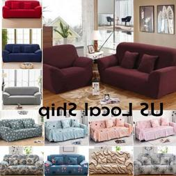 Stretch Chair Sofa Love Seat Covers 1 2 3 Seater Protector C