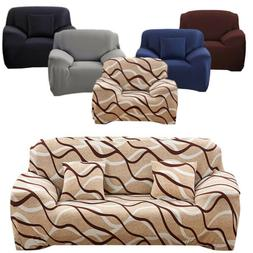 Stretch Chair Sofa Seat Covers 1 2 3 4 Seaters Protector Cou