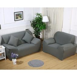 Stretch Loveseat Sofa Couch Protect Cover Slipcover For 1-2-