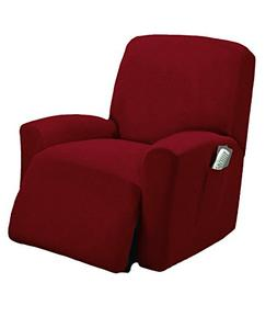 One piece Stretch Recliner Chair Furniture Slipcovers with R