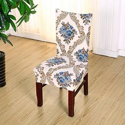 Stretch Removable Washable Dining Chair Protect Seat Cover S