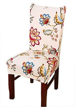 Stretch Removable Washable Short Dining Chair Cover Protecto