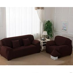 Stretch Seat Chair Covers Couch Slipcover Sofa Loveseat Cove