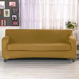 Bluecookies Stretch Sofa Cover 2-Piece Polyester Spandex Fab