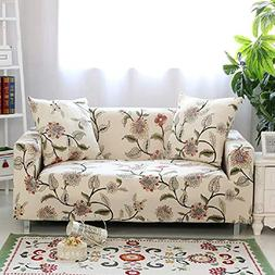 HOTNIU Stretch Sofa Loveseat Cover Pattern Arm Chair Couch S