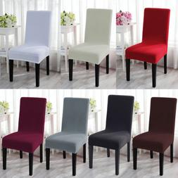 Stretch Spandex Dining Room Chair Cover Removable Seat Slipc