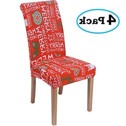 misaya Stretch Spandex Dining Room Chair Cover Removable Was